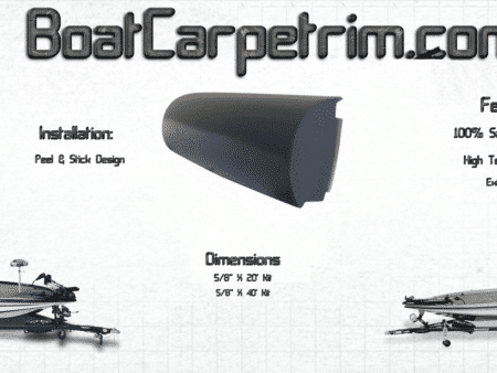Bass Boat Carpet Trim Molding | Floor Matttroy